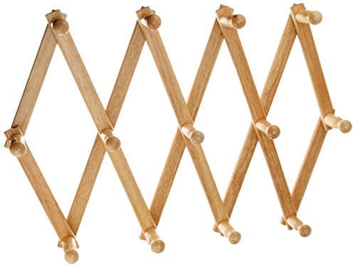 Fox Run Expanding Beechwood Coffee Mug Wall Rack (Cup Rack Wall Mount compare prices)