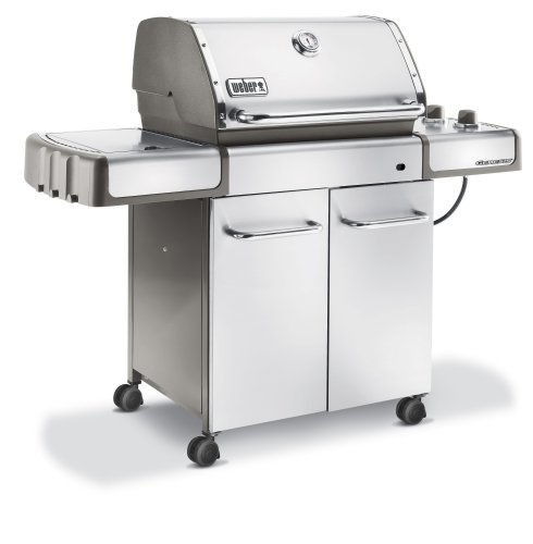propane gas grill weber 3780001 genesis s 320 propane gas grill stainless steel. Black Bedroom Furniture Sets. Home Design Ideas