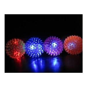 4 x LED FLASHING BOUNCE-SPIKE