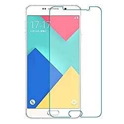 Ascari High Quality 9H 2.5D Premium Tempered Glass Screen Protector Screen Film For Samsung Galaxy A7 Upgrade A710 A710F 2016