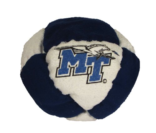 Hacky Sack - College Logo 8 Panelled Middle Tennessee State Design - 1