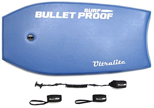 Bodyboard PACK by Bullet Proof Surf 37 inch ULTRALITE - Blue