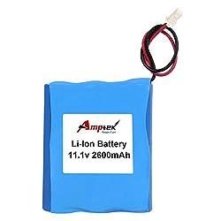 AMPTEK 11.1V 2600mAh Li-Ion Battery Pack