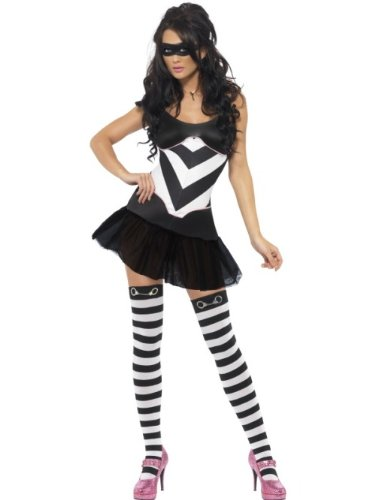 Miss Asking for Trouble (Robber) – Adult Fancy Dress Costume