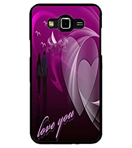 ColourCraft Lovely Couple Design Back Case Cover for SAMSUNG GALAXY GRAND MAX G720