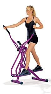 TV - Unser Original  Nordic Walking Crosstrainer, aubergine, 0878