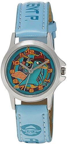 Disney Disney Analog Multi-Color Dial Children's Watch - 3K0906U-PF (BLUE) (Multicolor)