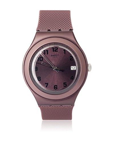 Swatch Reloj de cuarzo Unisex Unisex BROWN EFFECT YGC4001 38.0 mm