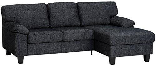 Best Price For Jysk Sofa Chaise Longue Gedser Fabric Grey Top