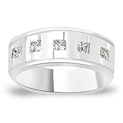 Taraash 925 Sterling Silver Ring For Men Silver-FR1348R9