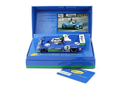 Slot.It Matra-Simca MS 670B #7 Le Mans Winner 1974 Limited Edition Performance Slot Car (1:32 Scale)