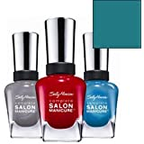 Sally Hansen Complete Salon Manicure Nail Polish ~ New Wave Blue 813