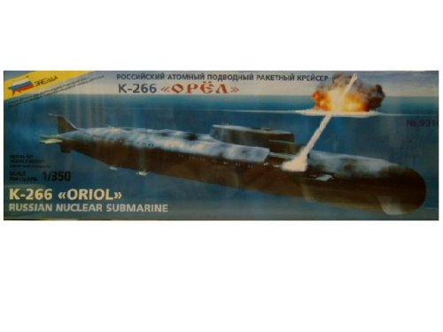 K-266 Oriol Russian Nuclear Submarine 1-350 by Zvezda - Buy K-266 Oriol Russian Nuclear Submarine 1-350 by Zvezda - Purchase K-266 Oriol Russian Nuclear Submarine 1-350 by Zvezda (Zvezda, Toys & Games,Categories,Construction Blocks & Models,Construction & Models,Vehicles,Naval)