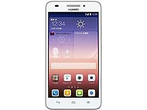Huawei SIMフリースマートフォン Ascend G620S(ホワイト)(LTE対応) G62