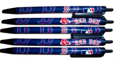 MLB Boston Red Sox Disposable Pens