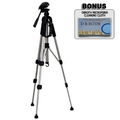 """.. Deluxe 57"""" Camera Tripod with Carrying Case For The Canon Digital Rebel XSI, XS SLR Cameras"""
