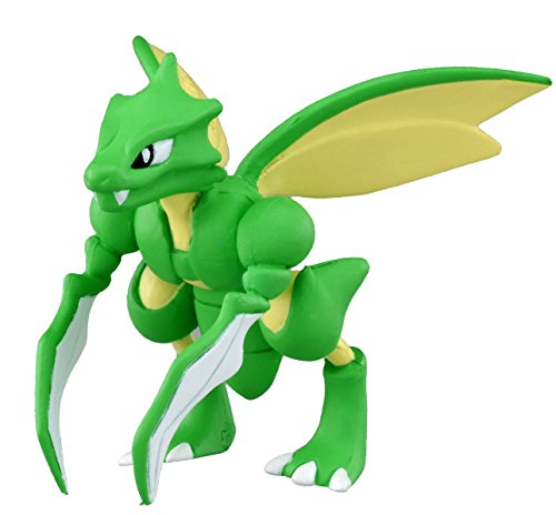 "Takaratomy Official Pokemon X and Y MC-054 2"" Scyther Action Figure - 1"