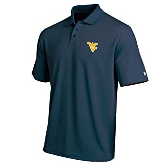 NCAA West Virginia Mountaineers Mens Performance Polo Shirt by Under Armour