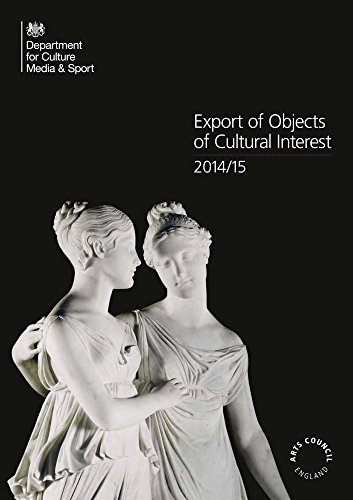 Export of Objects of Cultural Interest 2014/15 - 1 May 2014 to 30 April 2015