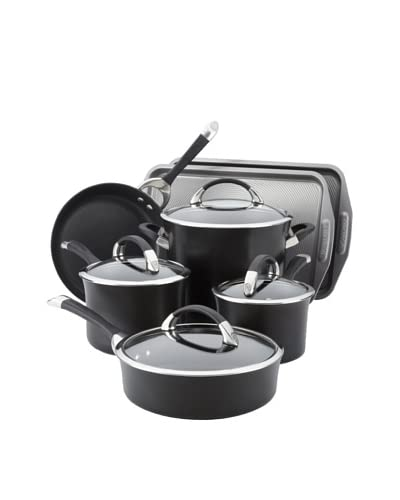 Circulon Symmetry 9-Piece Cookware Set with 2-Piece Bakeware Bonus