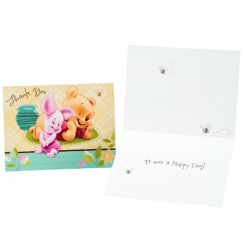 Baby Pooh and Friends Thank You Cards