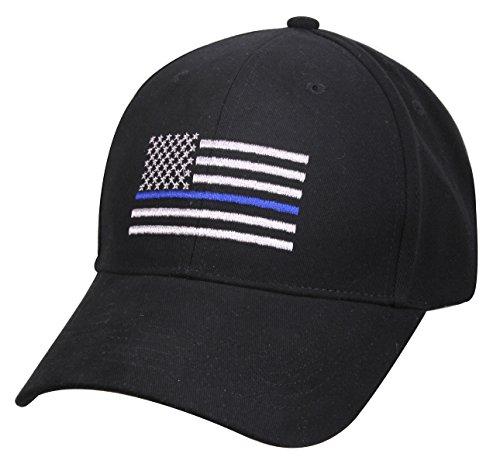 rothco-thin-blue-line-flag-low-profile-cap-black