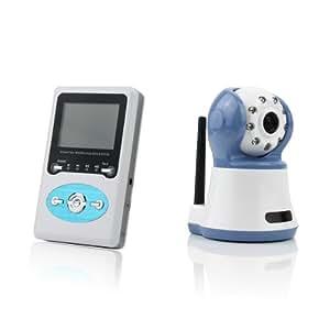 2 4 wireless digital baby monitor talk camera ir video baby. Black Bedroom Furniture Sets. Home Design Ideas