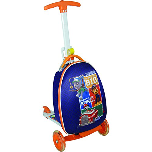 Nickelodeon Paw Patrol 'Boy Big or Small' Upright Scooter Suitcase (Upright Scooter compare prices)