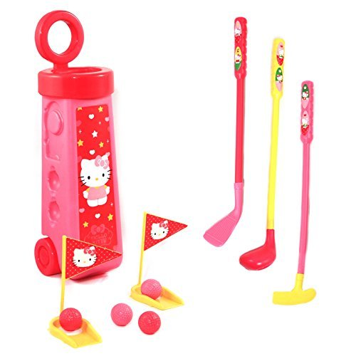 hello-kitty-golf-caddy-complete-childrens-play-set-12-piece