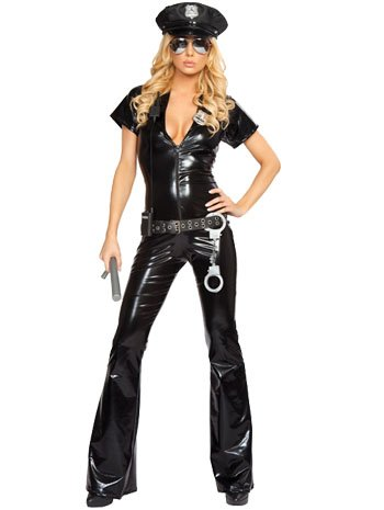 Sexy Officer Costume - Small/Medium - Dress Size 2-6