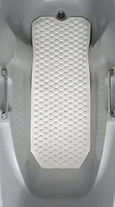 Good Ideas Extra Long Non Slip Bath Mat (805)- Non slip for your safety.