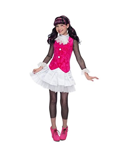 Monster High Draculaura Girls Costume Prestige