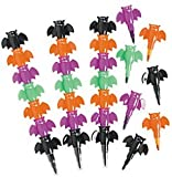 Pack of 12 - Bat Stacking Point Crayons - Great for Batman , X-Men,Spiderman,Marvel Super Heroes Party Loot Bags