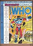img - for Impact Comics Who's Who #1 (Impact Comics Who's Who, Volume 1) book / textbook / text book