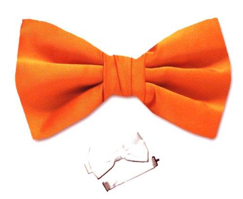 Pbt-Adf-11 - Mens Pre-Tied Bowtie - Orange