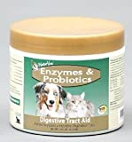 NATURVET 978045 Enzymes and Probiotics for Pets, 4-Ounce