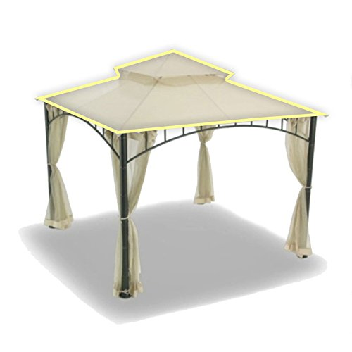OPEN BOX Replacement Canopy for Target's Madaga Gazebo - RipLock 500 Beige (Target Madaga Gazebo compare prices)
