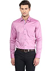 GIVO Onion Pink Solid Casual Shirt