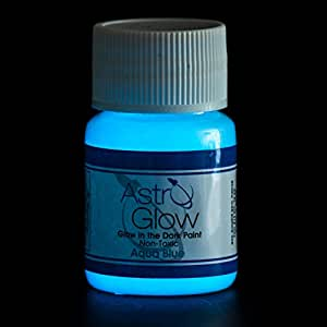 glow in the dark paint premium aqua blue 54 fl oz. Black Bedroom Furniture Sets. Home Design Ideas