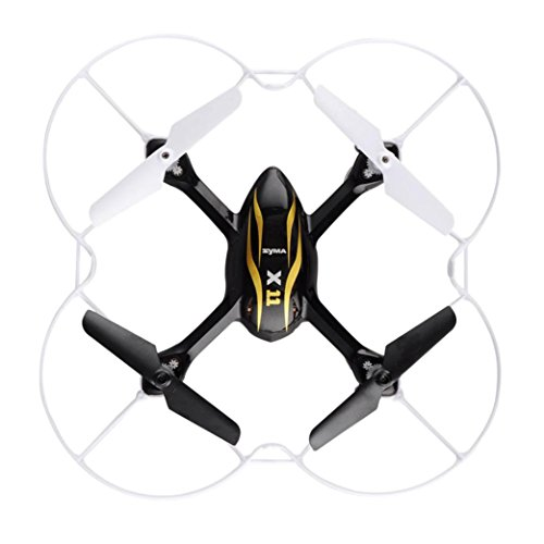 Perman Mini Syma X11C 2.4G RC Quadcopter Drone Helicopter Aircraft Gyro UFO With 2MP HD Camera Black
