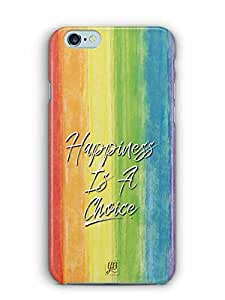 YuBingo Happiness is a Choice Designer Mobile Case Back Cover for Apple iPhone 6