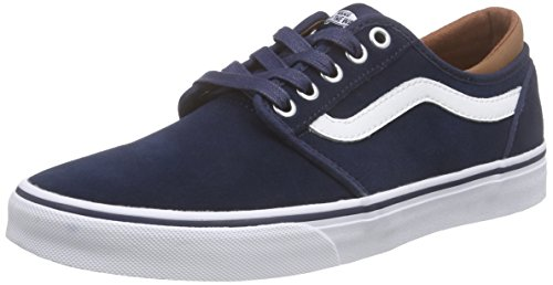 Vans Atwood - Scarpe da Ginnastica Basse Unisex - Adulto, Blu (c&l/dress Blues/white), 44 EU