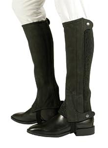 Pfiff - Polainas elásticas, color negro (black) - L