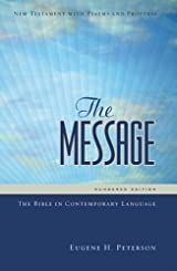 The Message New Testament with Psalms and Proverbs