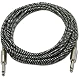 Motorola EX119 COMPATIBLE Fabric Woven Braided 3.5mm To 3.5mm Universal AUX TangleFree Auxiliary Cable For Car...