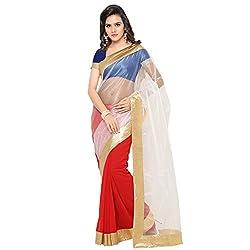 Shree Laxmi Creation Buy Apparel Red Saree
