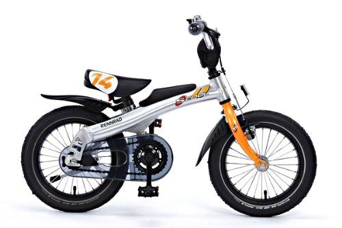 ステップアップバイク RENRAD(レンラッド) (オレンジ, 14インチ)