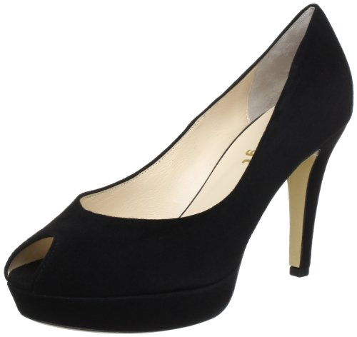 Högl shoe fashion GmbH 5-107902-89000 Peep-Toe Women black Schwarz (schwarz 0100) Size: 7 (41 EU)