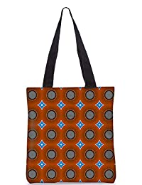 Snoogg Abstract Multicolor Pattern Design Digitally Printed Utility Tote Bag Handbag Made Of Poly Canvas - B01C8M686M