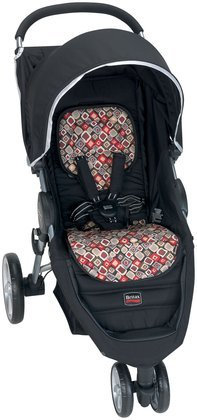 Britax B-Agile Fashion Stroller Kit, Redwood - 1